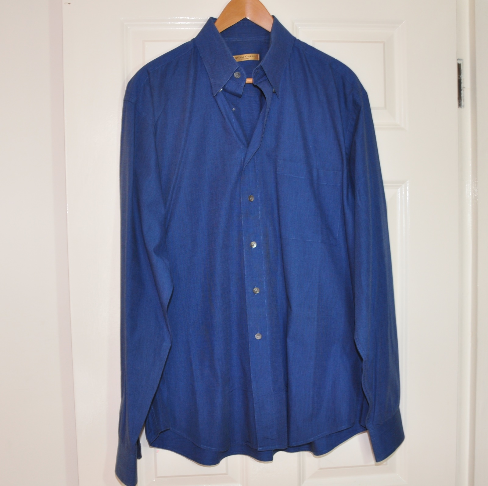 Donna Karan Signature Gold Label Men 39 S Royal Blue Dress